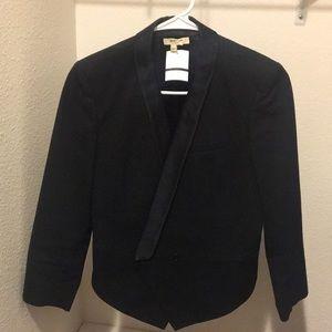 Helmut Lang tuxedo blazer small black